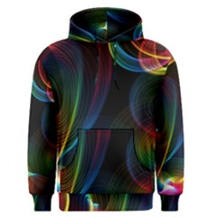 Abstract Rainbow Twirls Men s Pullover Hoodie