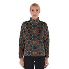 Seamless Abstract Peacock Feathers Abstract Pattern Winterwear