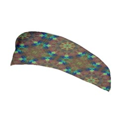 Seamless Abstract Peacock Feathers Abstract Pattern Stretchable Headband