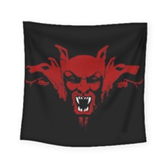 Dracula Square Tapestry (small) by Valentinaart