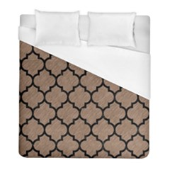 Tile1 Black Marble & Brown Colored Pencil (r) Duvet Cover (full/ Double Size) by trendistuff