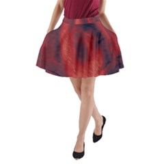 Blood Waterfall A Line Pocket Skirt by LokisStuffnMore