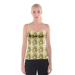 Cleopatras Gold Spaghetti Strap Top by psweetsdesign