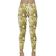 Cleopatras Gold Classic Yoga Leggings by psweetsdesign