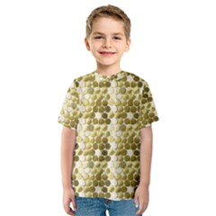 Cleopatras Gold Kids  Sport Mesh Tee by psweetsdesign