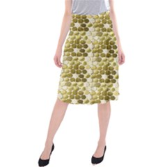 Cleopatras Gold Midi Beach Skirt by psweetsdesign