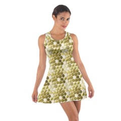 Cleopatras Gold Cotton Racerback Dress by psweetsdesign