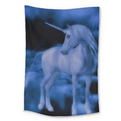 Magical Unicorn Large Tapestry by KAllan