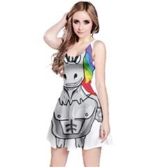 Angry Unicorn Reversible Sleeveless Dress