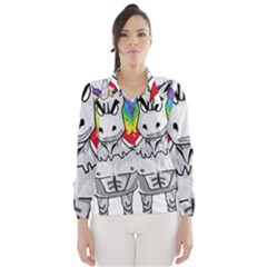 Angry Unicorn Wind Breaker (women) by KAllan