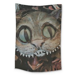 Cheshire Cat Large Tapestry by KAllan