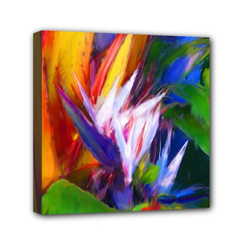 Palms02 Mini Canvas 6  X 6  by psweetsdesign