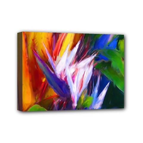 Palms02 Mini Canvas 7  X 5  by psweetsdesign