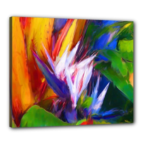 Palms02 Canvas 24  X 20  by psweetsdesign