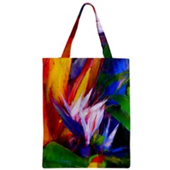 Palms02 Zipper Classic Tote Bag by psweetsdesign