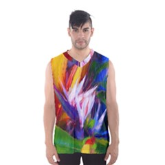 Palms02 Men s Basketball Tank Top by psweetsdesign