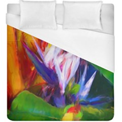 Palms02 Duvet Cover (king Size) by psweetsdesign