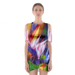 Palms02 Shoulder Cutout One Piece by psweetsdesign