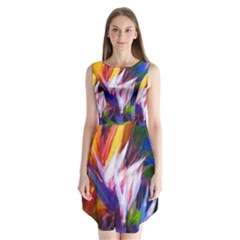 Palms02 Sleeveless Chiffon Dress   by psweetsdesign
