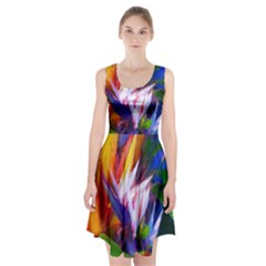 Palms02 Racerback Midi Dress by psweetsdesign