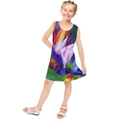 Palms02 Kids  Tunic Dress