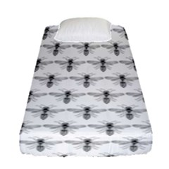 Bee Wasp Sting Fitted Sheet (single Size) by Mariart
