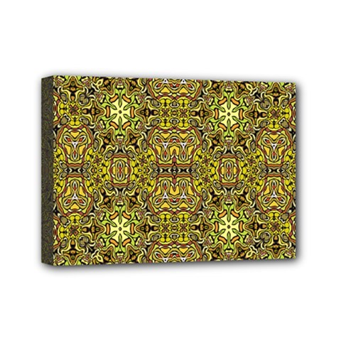 Oriental Pattern 02a Mini Canvas 7  X 5  by MoreColorsinLife