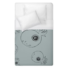 Tiny Octopus Duvet Cover (single Size) by Mariart
