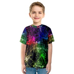 Color Fun 03b Kids  Sport Mesh Tee by MoreColorsinLife