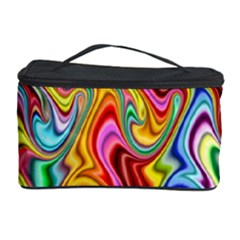 Rainbow Gnarls Cosmetic Storage Case by WolfepawFractals
