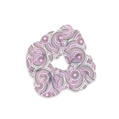 Broken Pattern E Velvet Scrunchie by MoreColorsinLife