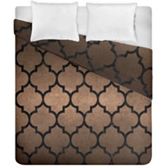 Tile1 Black Marble & Bronze Metal (r) Duvet Cover Double Side (california King Size) by trendistuff