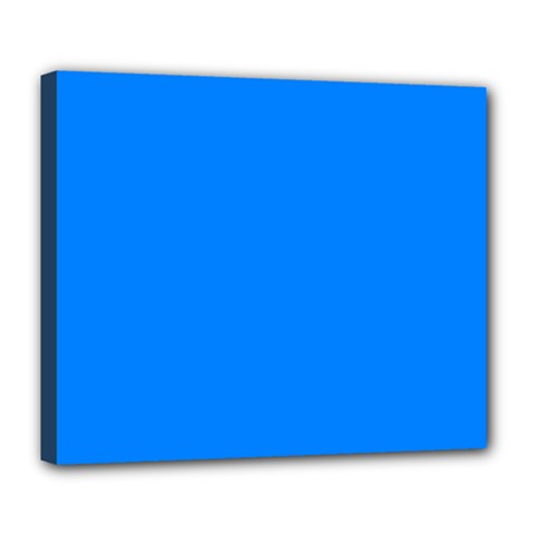 Azure Deluxe Canvas 24  X 20   by SimplyColor