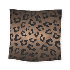 Skin5 Black Marble & Bronze Metal Square Tapestry (small) by trendistuff