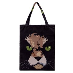 Cat  Classic Tote Bag by Valentinaart