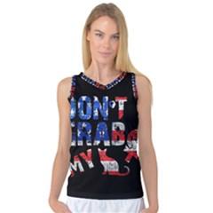 Dont Grab My Women s Basketball Tank Top by Valentinaart