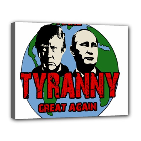 Make Tyranny Great Again Canvas 14  X 11  by Valentinaart