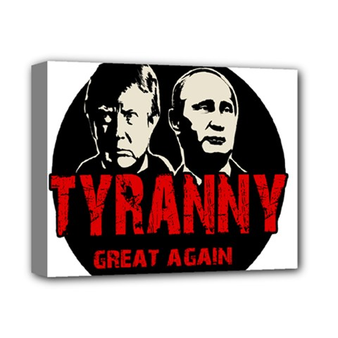 Make Tyranny Great Again Deluxe Canvas 14  X 11  by Valentinaart