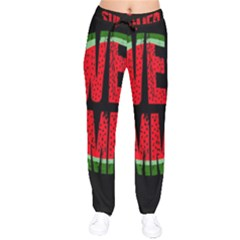 Watermelon   Sweet Summer Drawstring Pants by Valentinaart