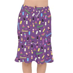Summer Pattern Mermaid Skirt by Valentinaart