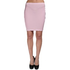 Blush Pink Bodycon Skirt by SimplyColor