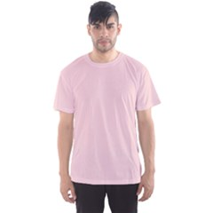 Blush Pink Men s Sports Mesh Tee by SimplyColor