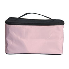 Blush Pink Cosmetic Storage Case by SimplyColor