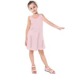 Blush Pink Kids  Sleeveless Dress