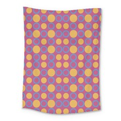 Colorful Geometric Polka Print Medium Tapestry by dflcprints