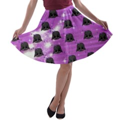 4 5 D5 1 Dress Back A Line Skater Skirt Lady Vader by galfawkes