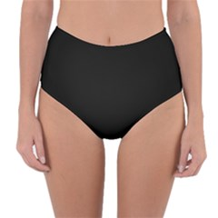 Simply Black Reversible High Waist Bikini Bottoms by SimplyColor