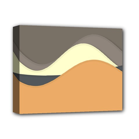 Wave Chevron Waves Material Deluxe Canvas 14  X 11  by Mariart