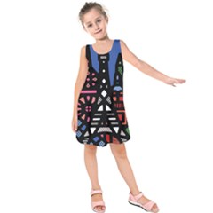 7 Wonders World Kids  Sleeveless Dress