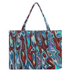 Dizzy Stone Wave Medium Zipper Tote Bag by Mariart